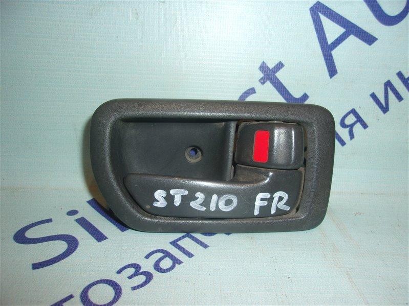 Ручка двери внутренняя Toyota Corona Premio ST210 передняя правая