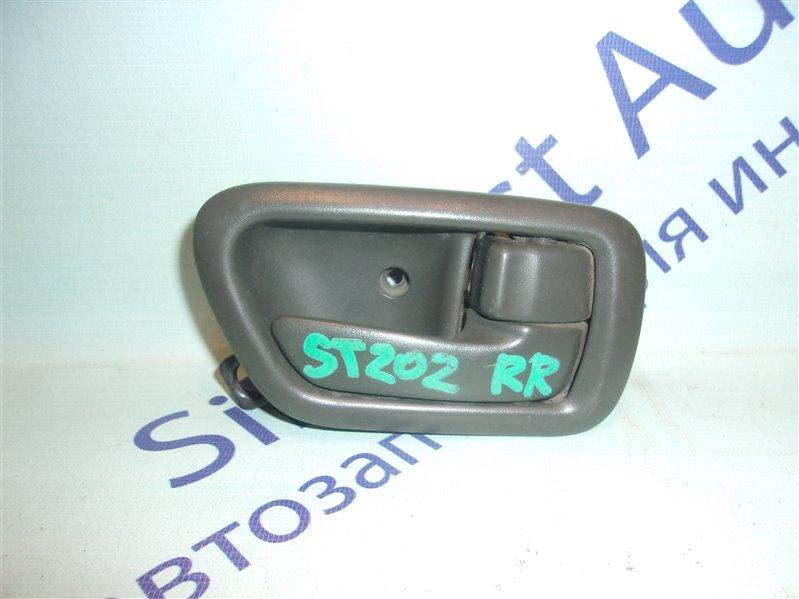 Ручка двери внутренняя Toyota Corona Premio ST210 задняя правая