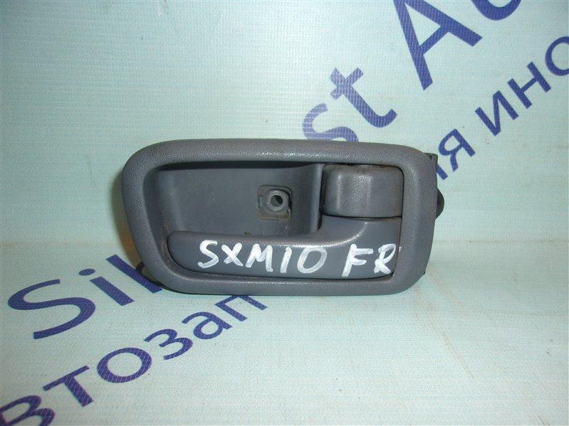 Ручка двери внутренняя Toyota Ipsum SXM10 передняя правая