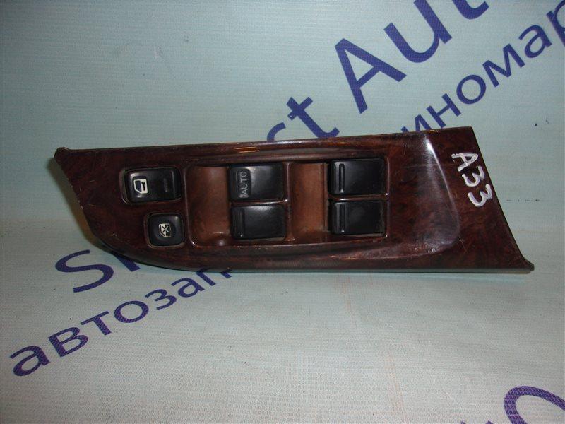 Блок упр. стеклоподьемниками Nissan Cefiro A33 передний правый