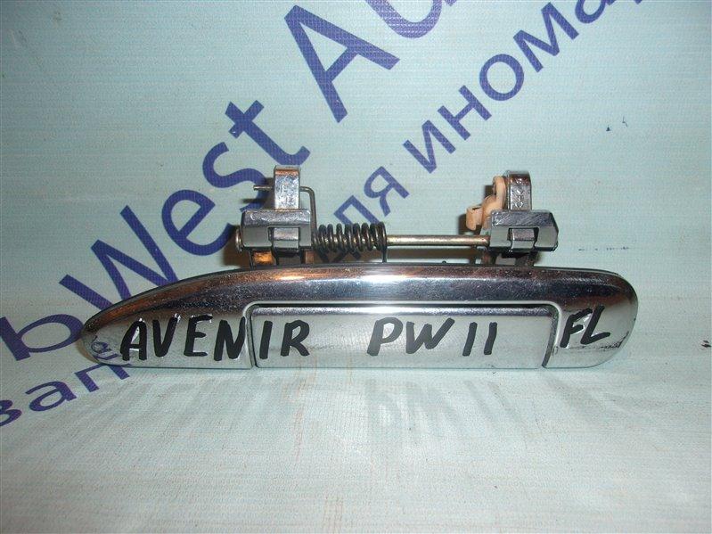 Ручка двери внешняя Nissan Avenir PW11 передняя левая