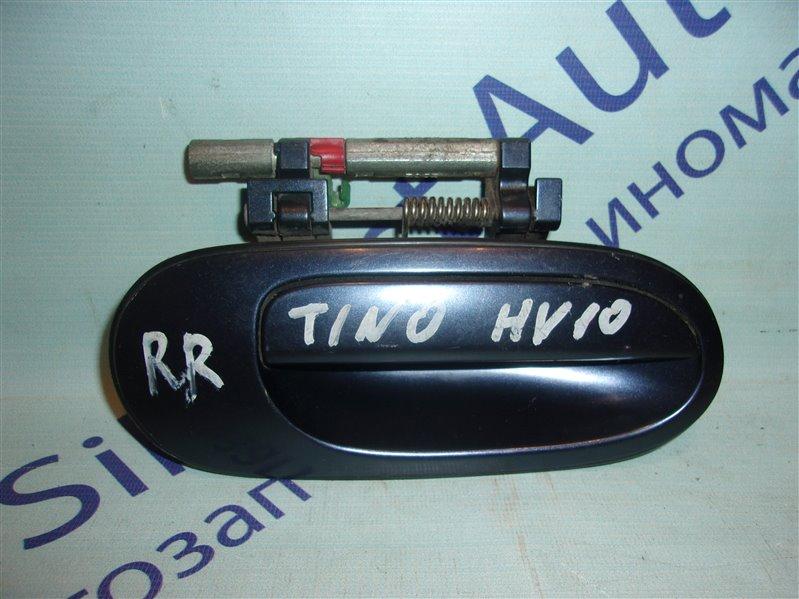 Ручка двери внешняя Nissan Tino HV10 задняя правая