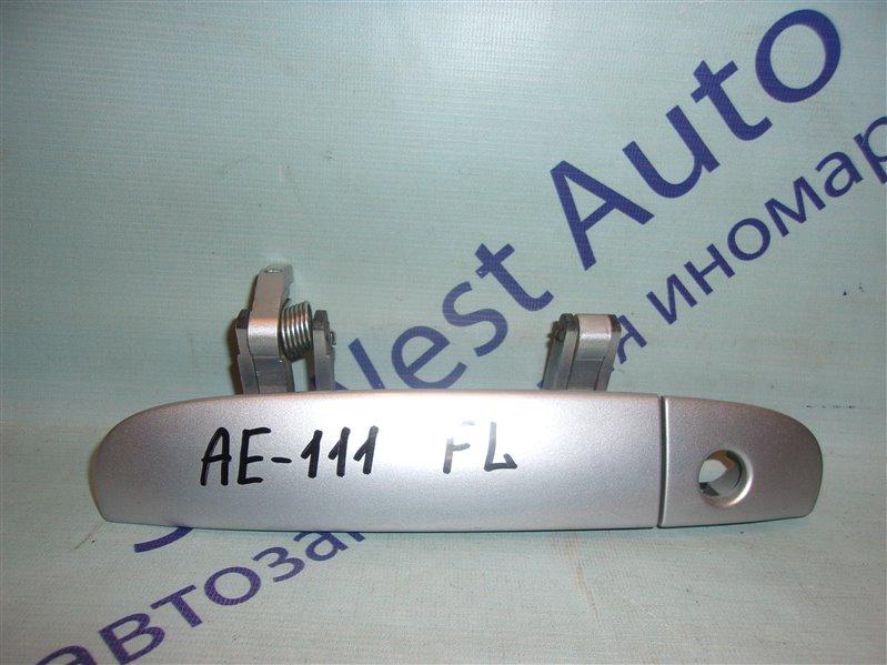 Ручка двери внешняя Toyota Spacio AE111 передняя левая