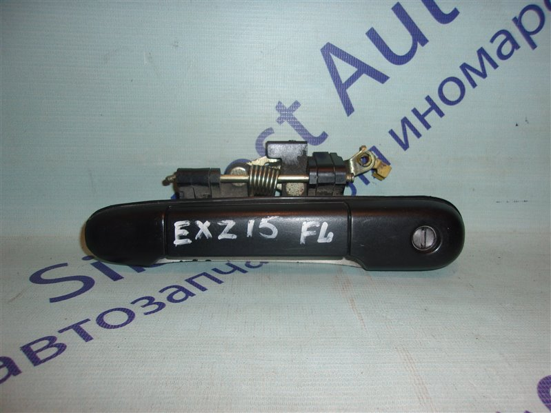 Ручка двери внешняя Toyota Raum EXZ15 передняя левая