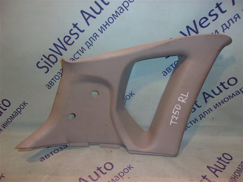 Обшивка багажника Chevrolet Aveo T255(T250) B12D1 2009 левая верхняя