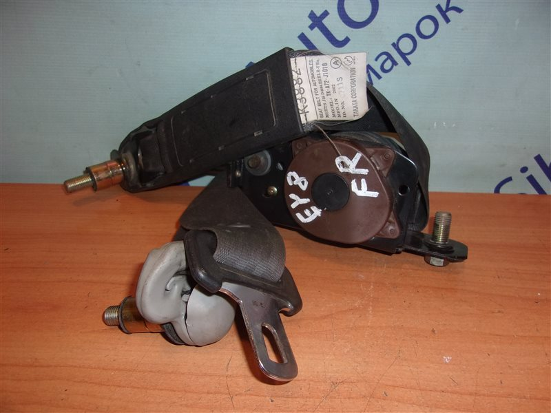 Ремень безопасности Honda Partner EY8 D16A 2002 передний правый