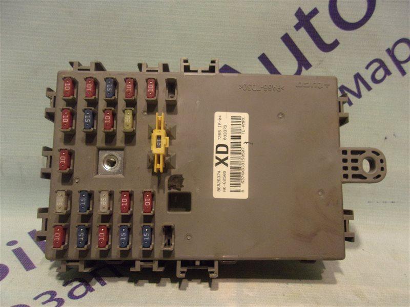 Блок предохранителей Chevrolet Aveo T255(T250) B12D1 2009