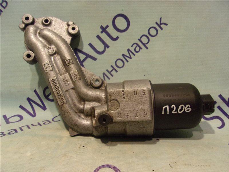 Крепление масляного фильтра Peugeot 206 TU3JP1.4L 2002