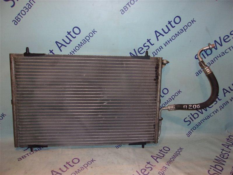Радиатор кондиционера Peugeot 206 TU3JP1.4L 2002