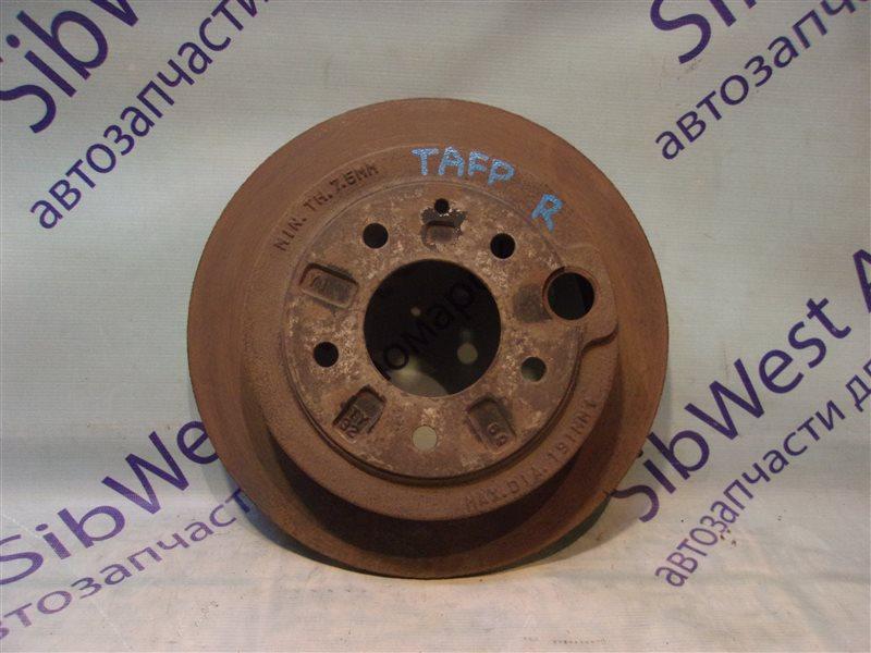 Тормозной диск Mazda Millenia TAFP KF-ZE 2000 задний