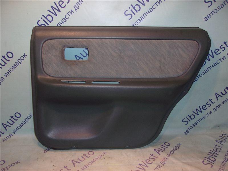 Обшивка дверей Nissan Presea R11 GA15DE 1997 задняя правая