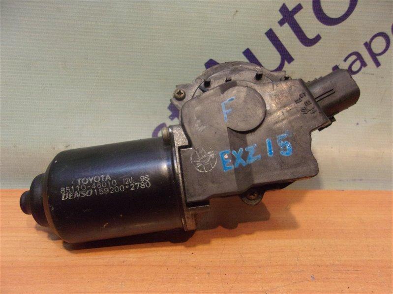 Мотор дворников Toyota Raum EXZ15