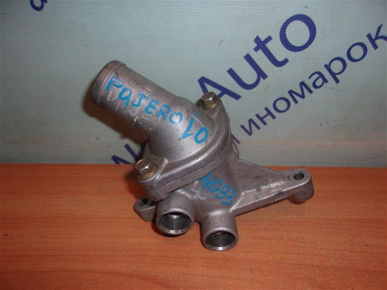 Корпус термостата Mitsubishi Pajero Io H76W 4G93