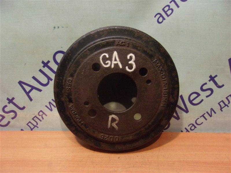 Тормозной барабан Honda Logo GA3 задний