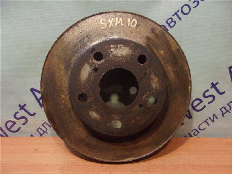 Тормозной диск Toyota Gaia SXM10 передний