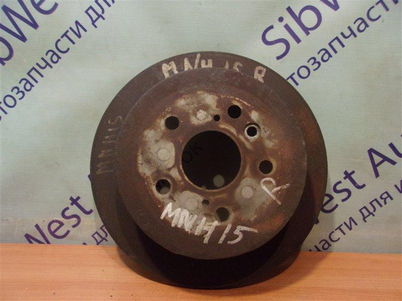Тормозной диск Toyota Alphard MNH15 задний