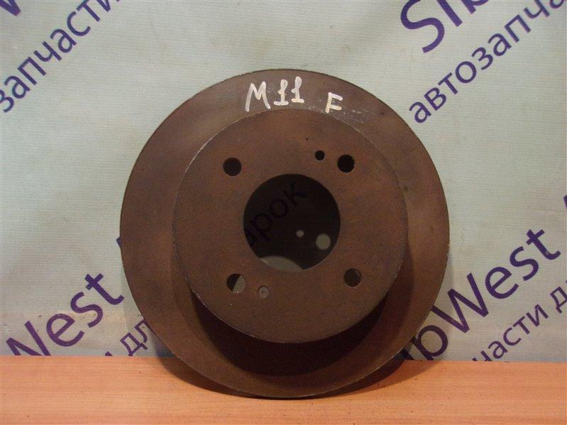 Тормозной диск Nissan Prairie M11 передний