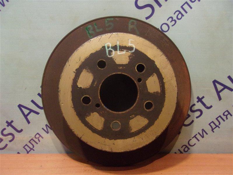 Тормозной диск Subaru Legacy BL5 задний
