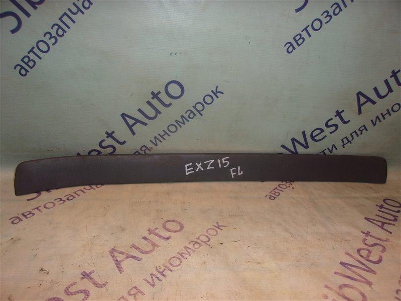 Порожек пластиковый Toyota Raum EXZ15 передний левый