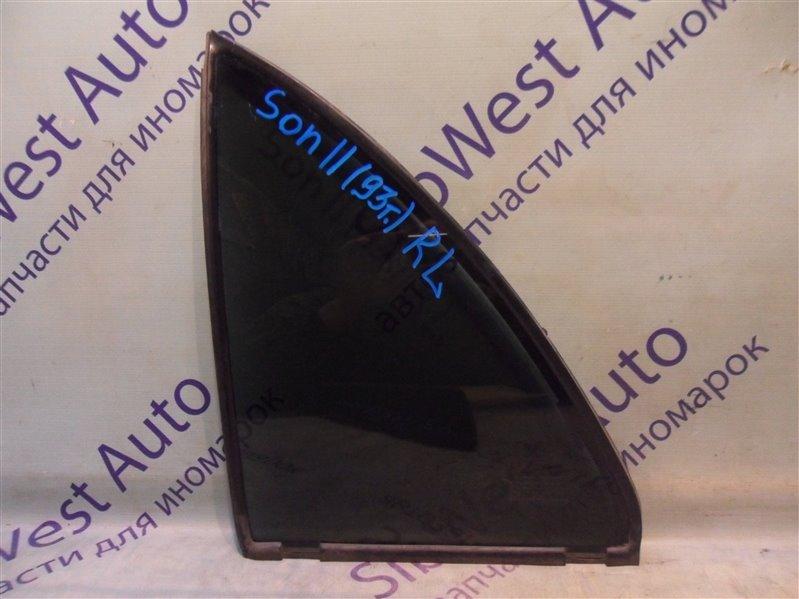 Форточка двери Hyundai Sonata Ii Y3 4GCP 1993 - 1996 задняя левая