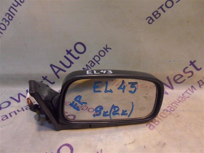 Зеркало Toyota Tercel EL43 5E-FE 1990-1994 правое