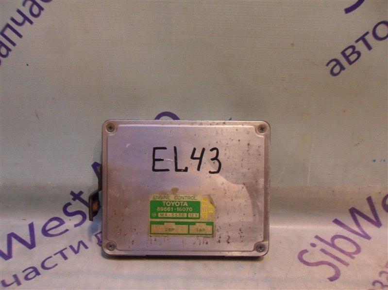 Блок управления efi Toyota Tercel EL43 5E-FE 1990-1994