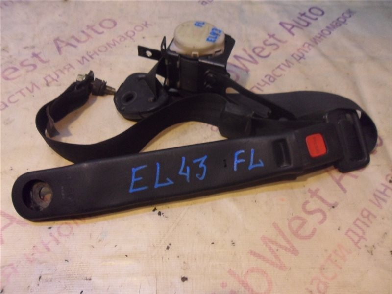 Ремень безопасности Toyota Tercel EL43 5E-FE 1990-1994 передний левый