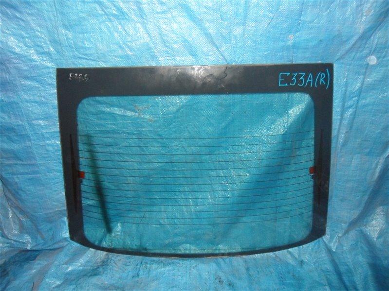 Заднее стекло Mitsubishi Galant E33A 4G63 1992