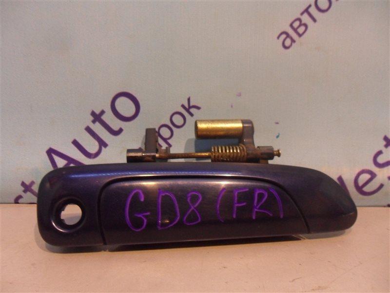 Ручка двери внешняя Honda Fit Aria GD8 L15A 2003 передняя правая