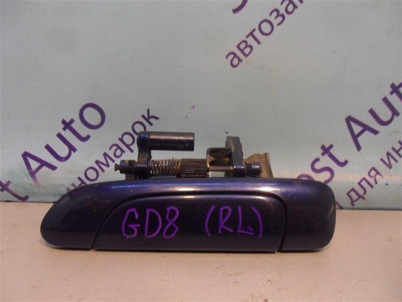 Ручка двери внешняя Honda Fit Aria GD8 L15A 2003 задняя левая
