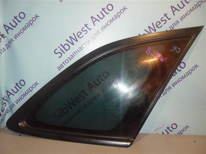 Стекло собачника Mazda Familia BJ5W ZL-DE 31.08.2000 заднее правое