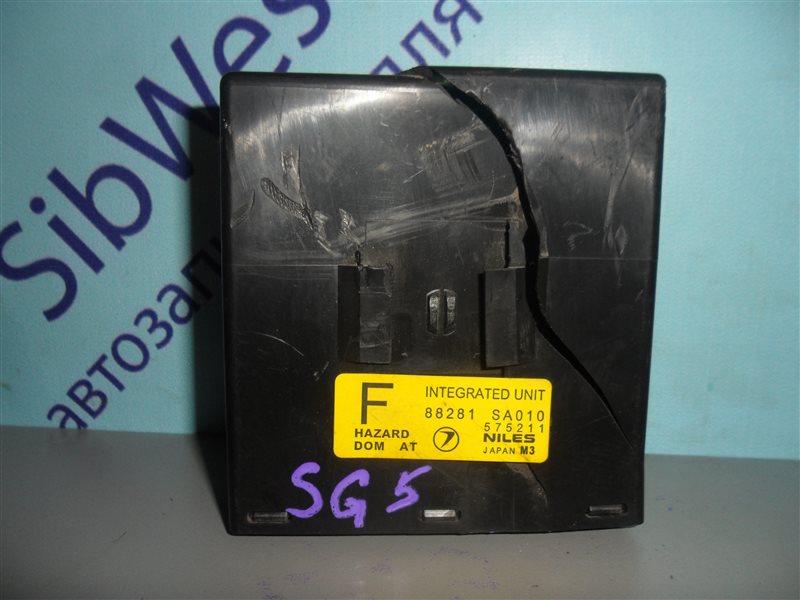 Блок управления abs Subaru Forester SG5 EJ202 2002