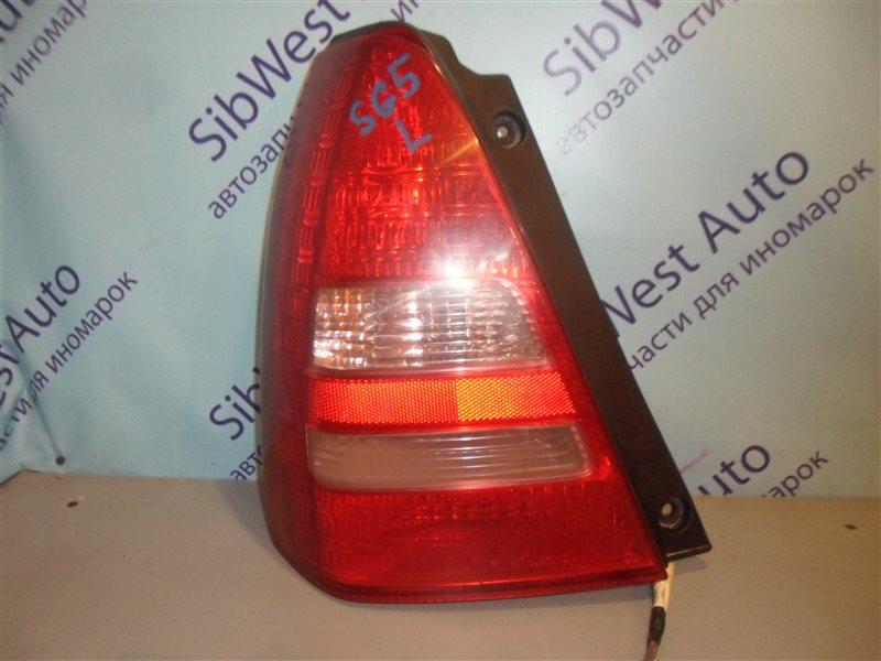 Стоп-сигнал Subaru Forester SG5 EJ202 2002 задний левый