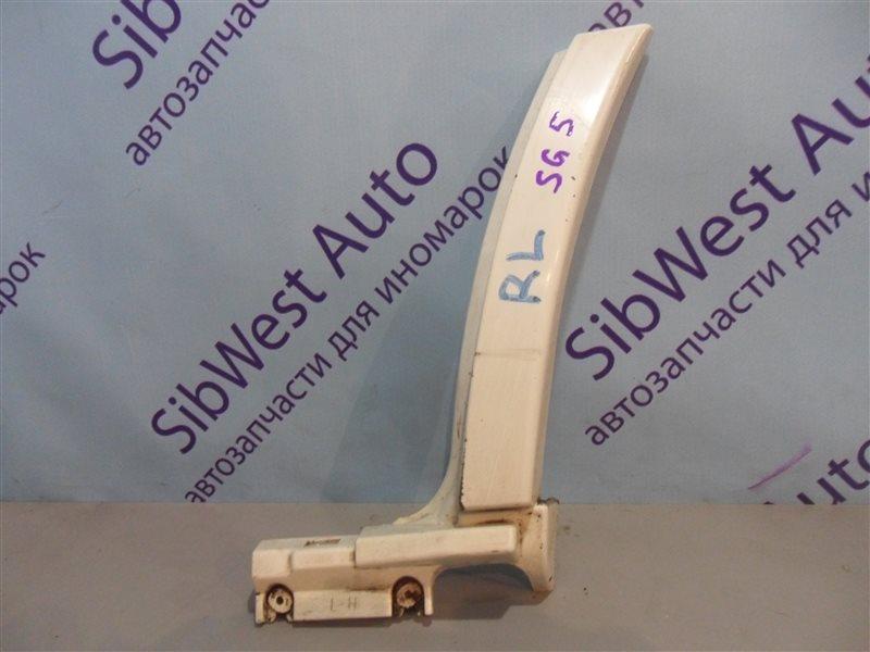 Молдинг на крыло Subaru Forester SG5 EJ202 2002 задний левый