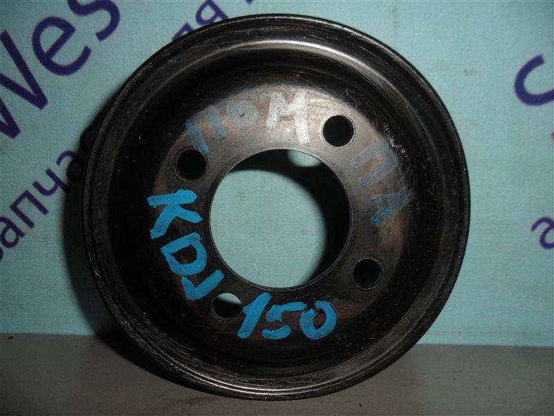 Шкив помпы Toyota Land Cruiser Prado KDJ150 1KD-FTV 2012