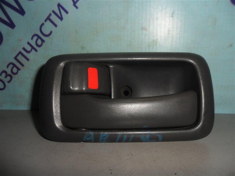 Ручка двери внутренняя Toyota Levin AE111 4AFE 1995 передняя левая