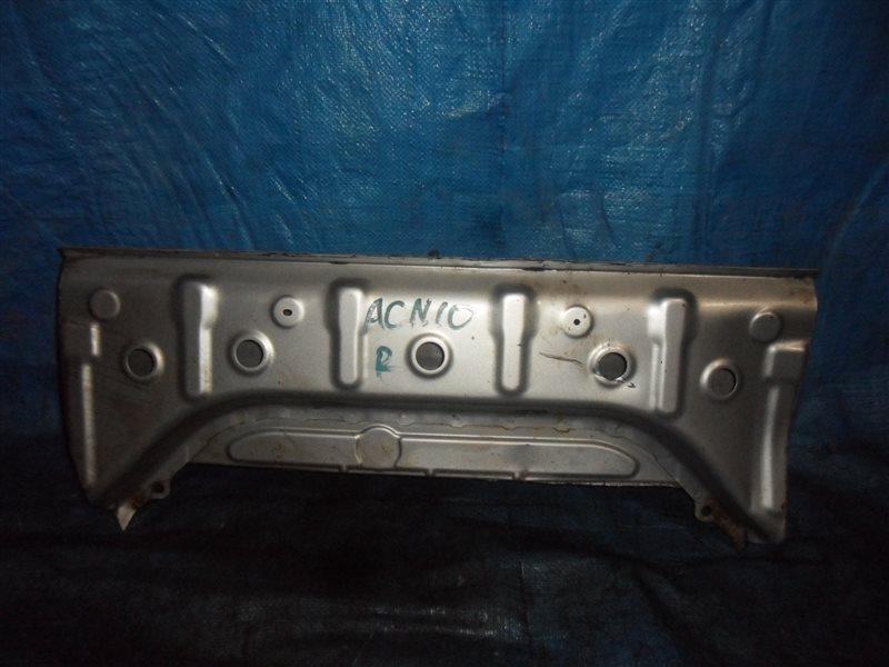 Задняя панель кузова Toyota Nadia ACN10 1AZFSE задняя
