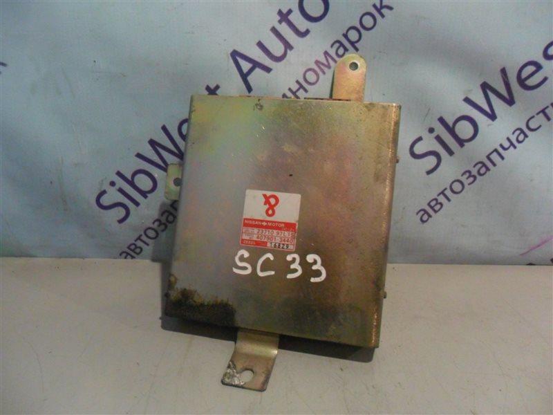 Блок управления efi Nissan Laurel SC33 RD28 1991