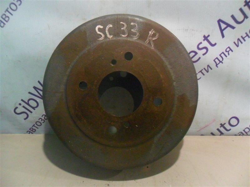 Тормозной барабан Nissan Laurel SC33 RD28 1991 задний