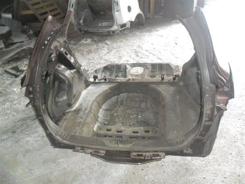 Задняя панель кузова Kia Cee'd JD G4FG 2014 задняя