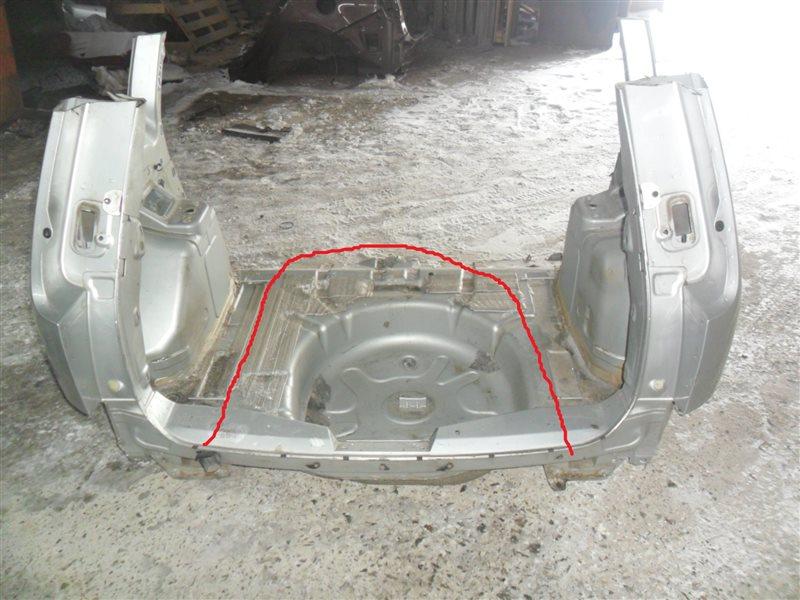 Задняя панель кузова Ford C-Max C214 HXDA 2006