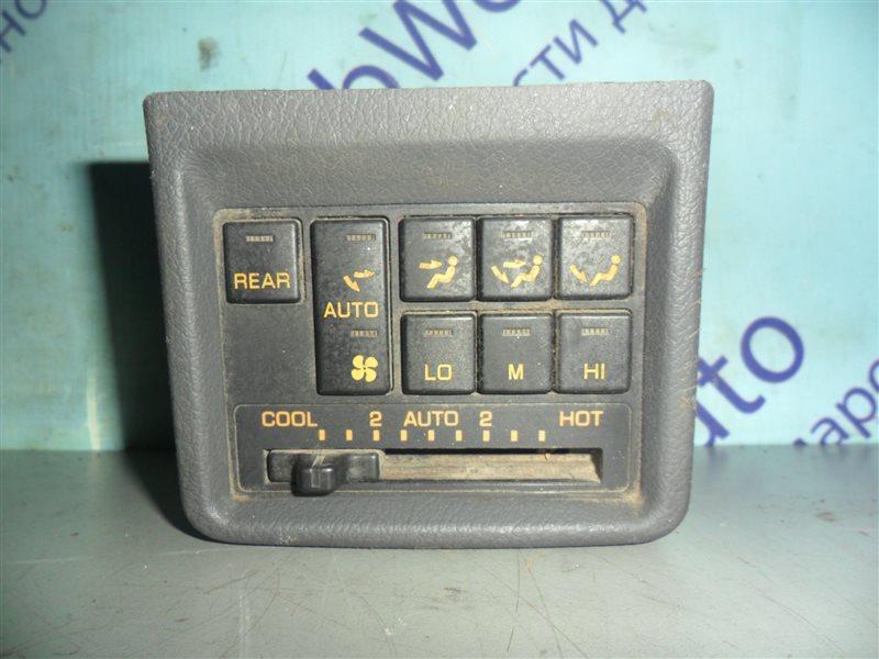 Блок управления климат-контролем Mitsubishi Pajero V43W 6G72 1994 задний