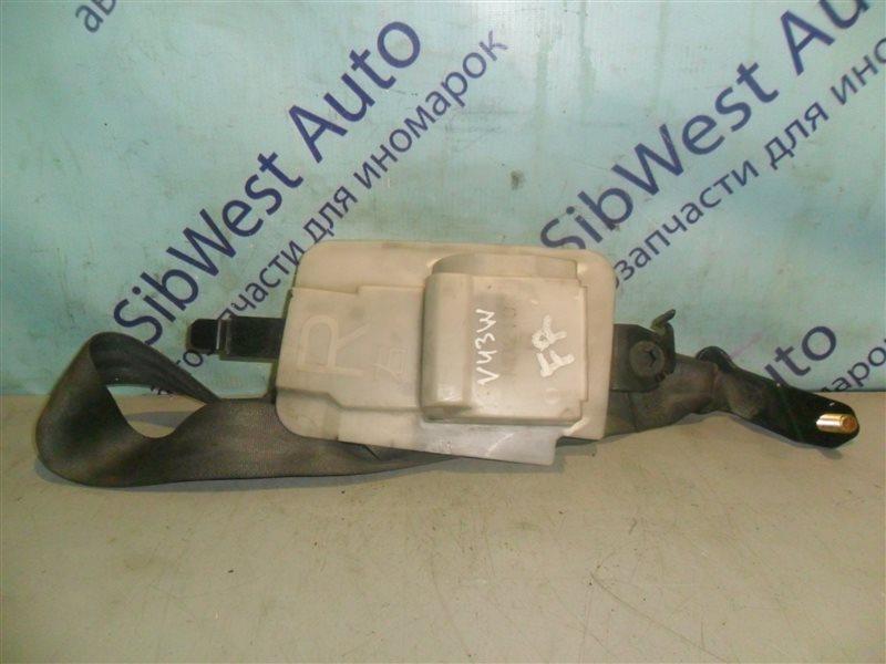 Ремень безопасности Mitsubishi Pajero V43W 6G72 1994 передний правый