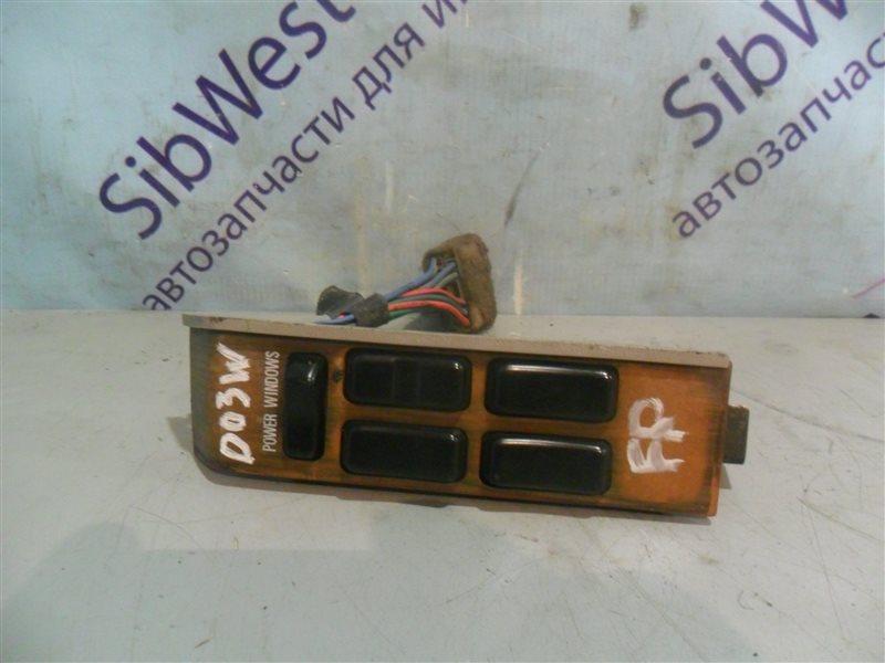 Блок упр. стеклоподьемниками Mitsubishi Chariot D03W G62B 1983 передний правый