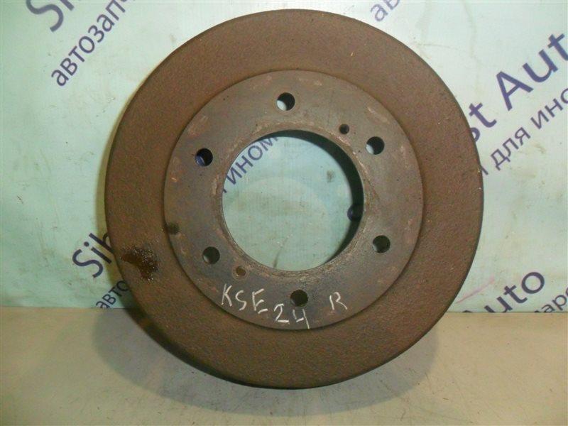 Тормозной барабан Nissan Homy KSE24 LD20 1991 задний