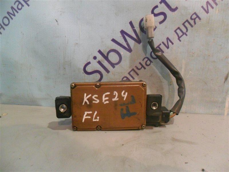 Электропривод замка двери Nissan Homy KSE24 LD20 1991 передний левый
