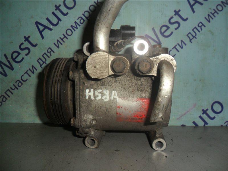 Компрессор кондиционера Mitsubishi Pajero Mini H58A 4A30T