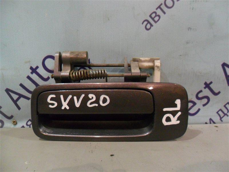 Ручка двери внешняя Toyota Camry Gracia SXV20 5SFE 1997 задняя левая