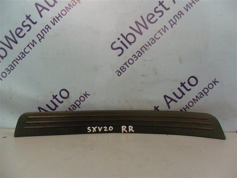 Порожек пластиковый Toyota Camry Gracia SXV20 5SFE 1997 задний правый