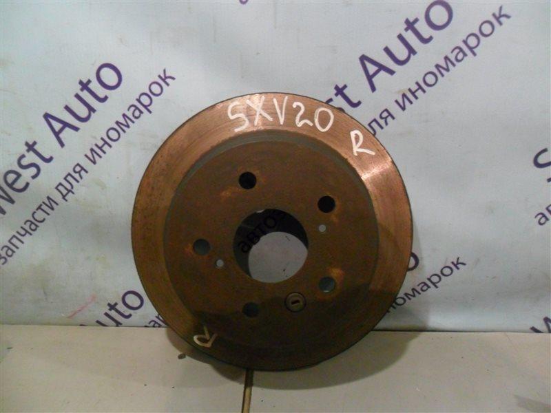 Тормозной диск Toyota Camry Gracia SXV20 5SFE 1997 задний